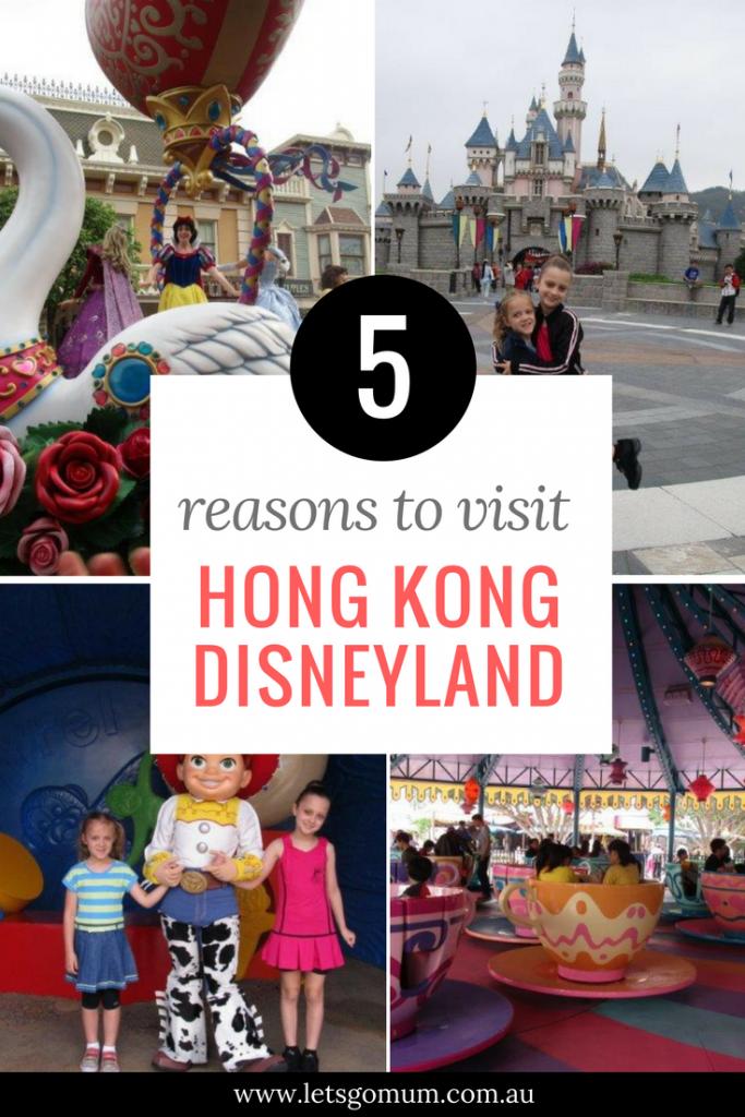 5 great reasons to visit Hong Kong Disneyland