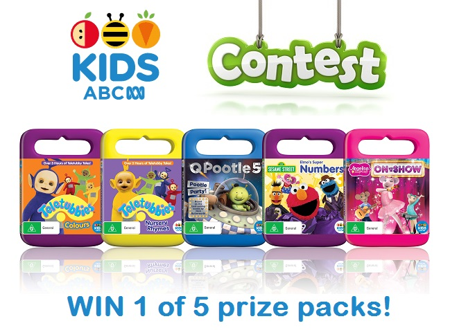Win 1 Of 5 ABC Kids New Release DVD Packs