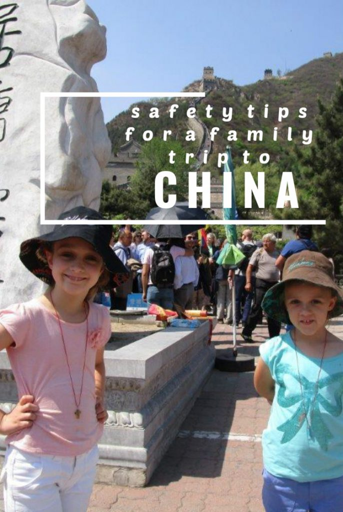 Safety tips for a family trip to China