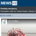ABC News Lets go Mum Instagram image