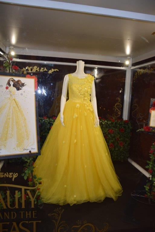 Belle's beautiful gown