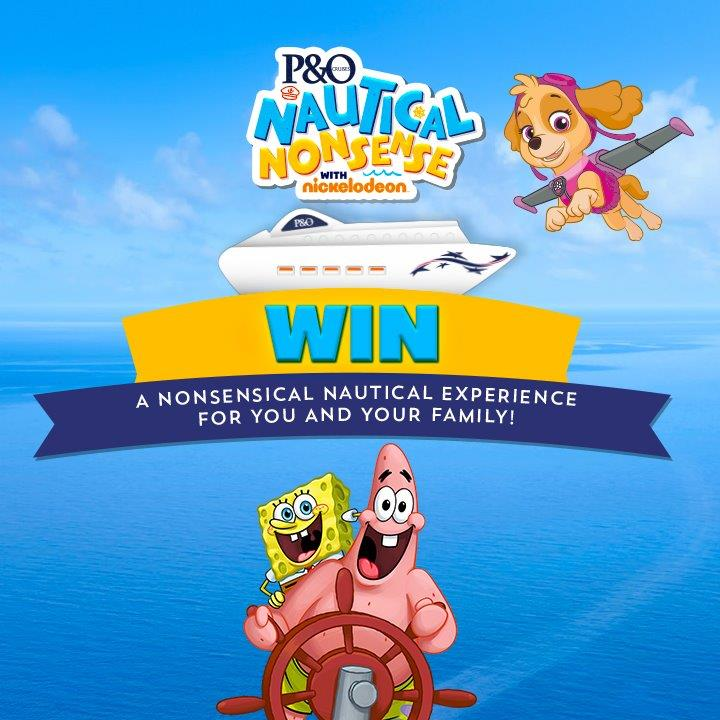 Nickelodeon P&O Cruises competition