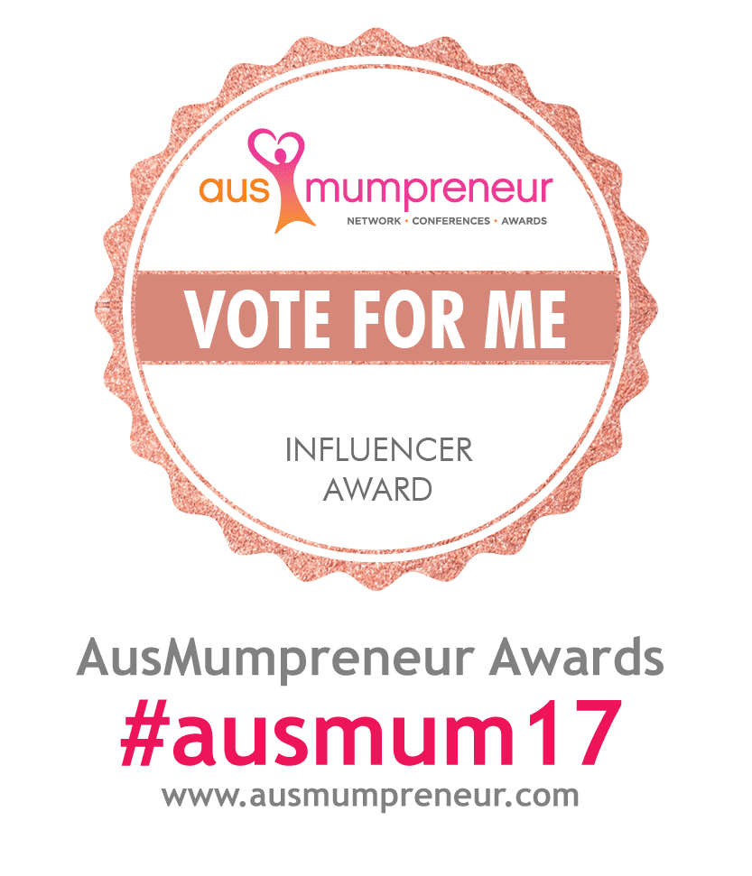 Vote for Barbara in the Ausmumpreneur Awards here...