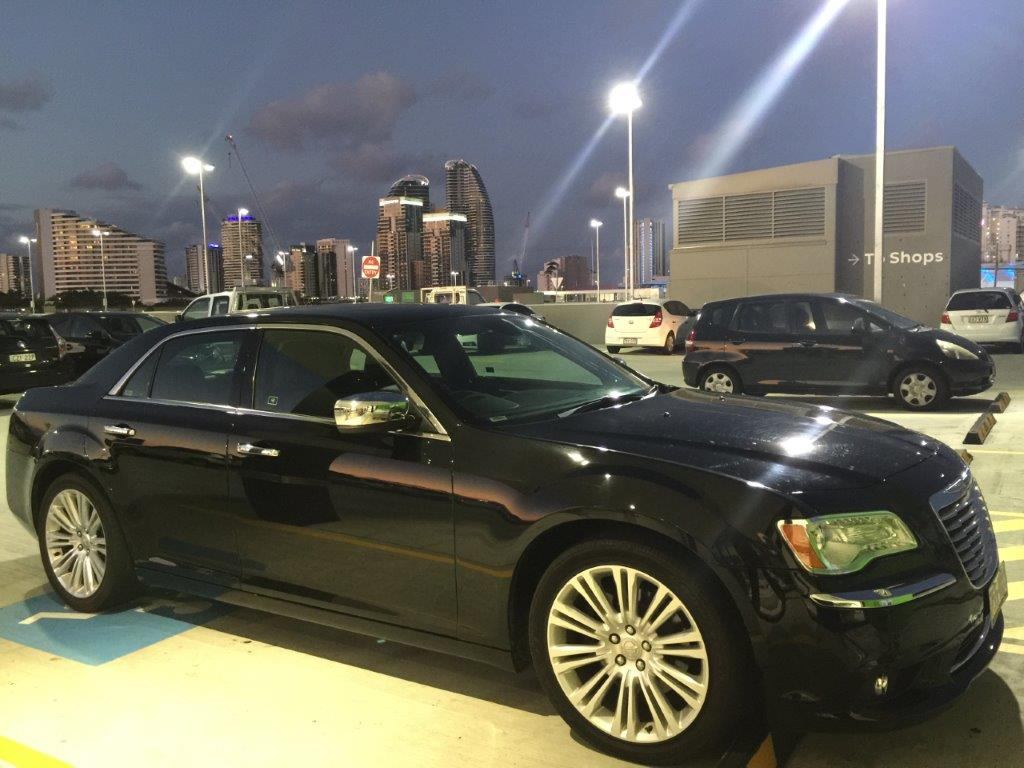 Chrysler 300c sedan hire car