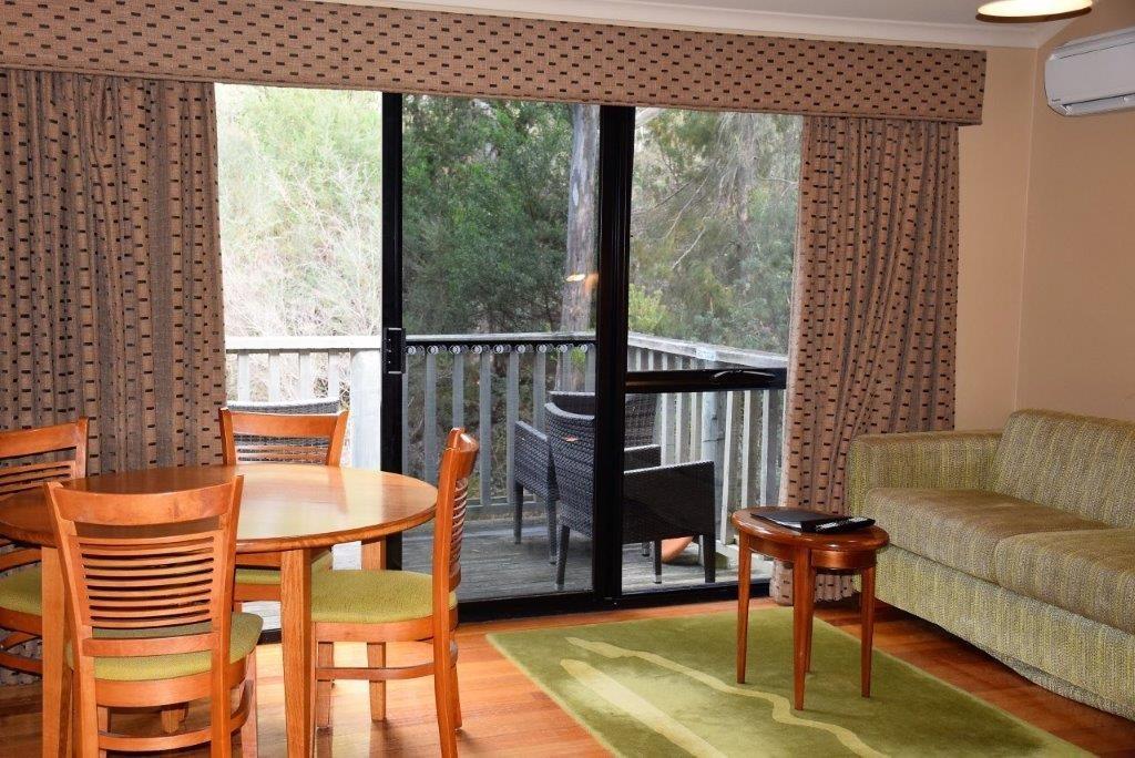 Inside a Freycinet Lodge cabin