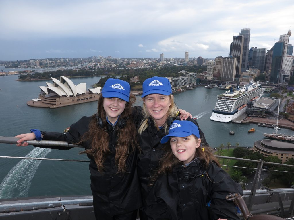 This week we found ourselves standing on the top of the world - aka. the Sydney Harbour Bridge, thanks to BridgeClimb Sydney!