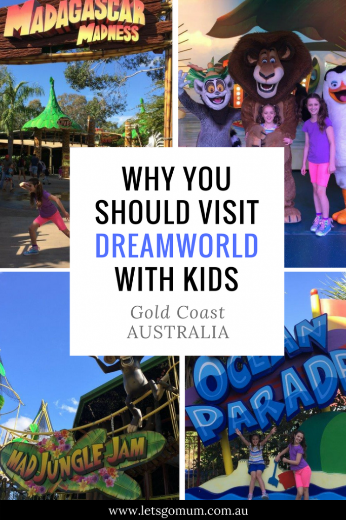 Dreamworld - the Gold Coast theme park with more for kids, Australia
