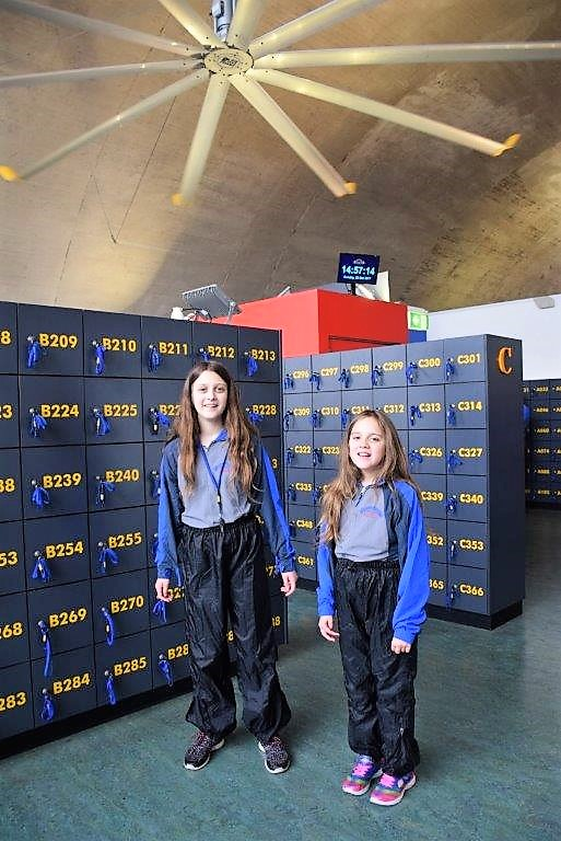 BridgeClimb clothes are light and comfortable - and come in kid's sizes!