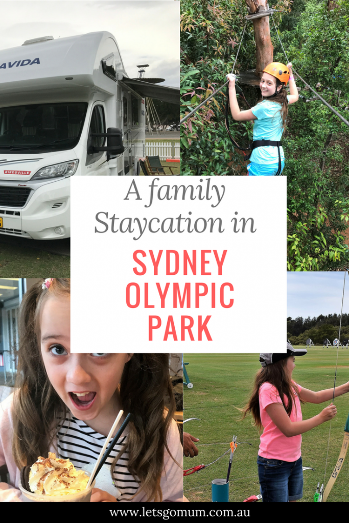 Sydney Olympic Park offers new ways for families to play together - sports, experiences, activities - plus some of the best family restaurants in Sydney!