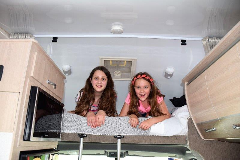 Sydney Olympic Park staycation motorhome