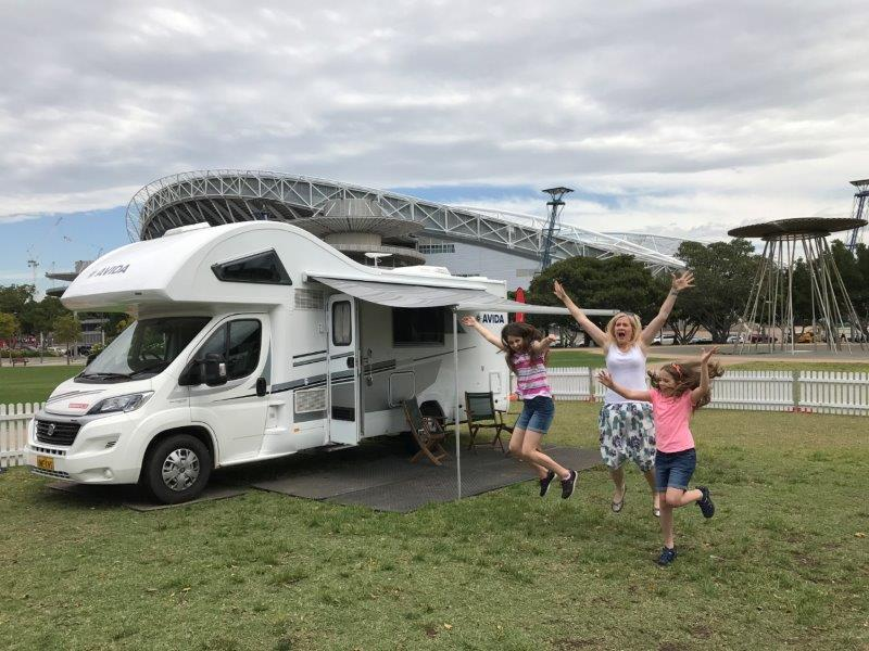 Sydney Olympic Park staycation