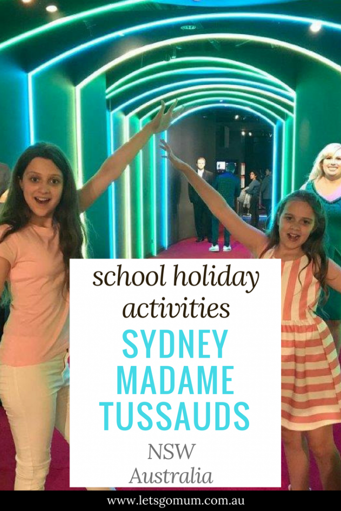 Madame Tussauds Sydney, Australia has a great all-new attraction - the interactive party zone!