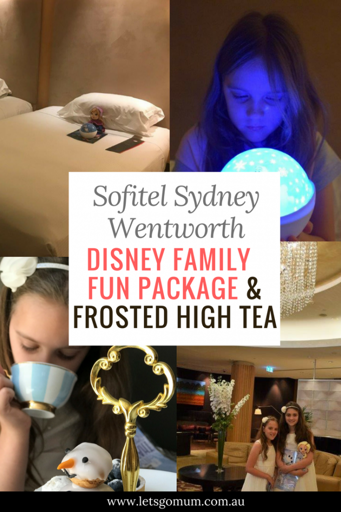Sofitel Disney Frozen Package and High Tea