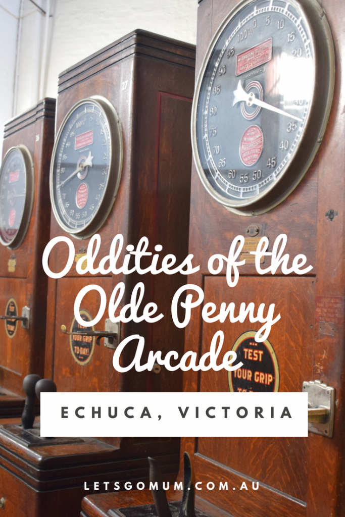 While we were on our latest Victorian Road trip, I got a chance to revisit a very special attraction that I hadn't seen in many years - and yet it was just as memorable as ever - the Echuca Penny Arcade!
