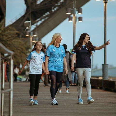 Shooting for Sydney FC and Puma at Luna Park was a lot of fun