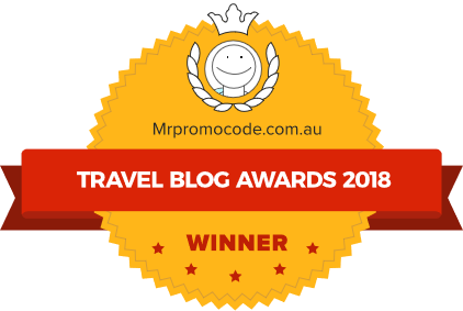 Travel blogs awards winner 2018