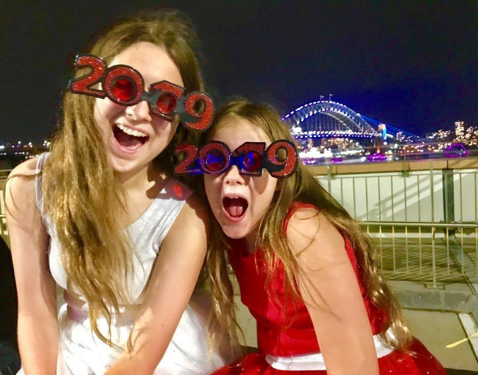 Sydney NYE Cahill Expressway fireworks