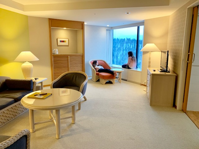 Hoshino Resorts Risonare suites are large and luxurious