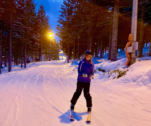 The fun doesn't have to end at sundown thanks to night skiing!