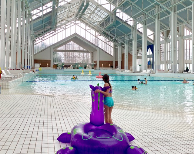 Go for a swim at the Mina Mina Beach indoor wave pool