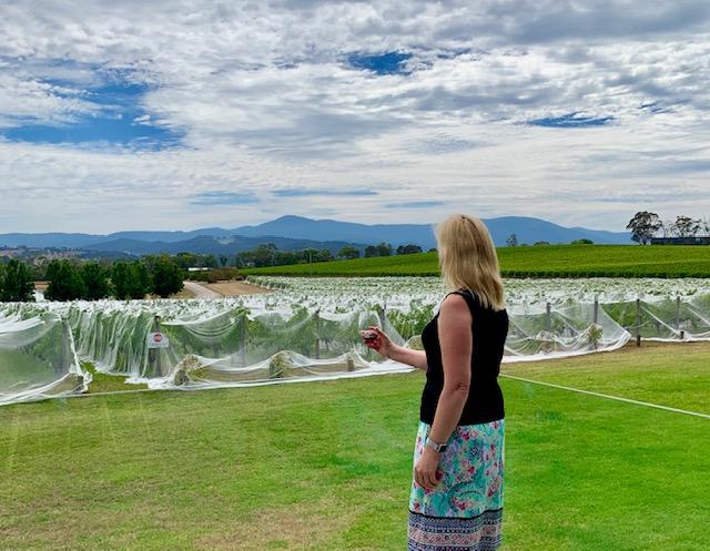 Oakridge winery in the Yarra Valley