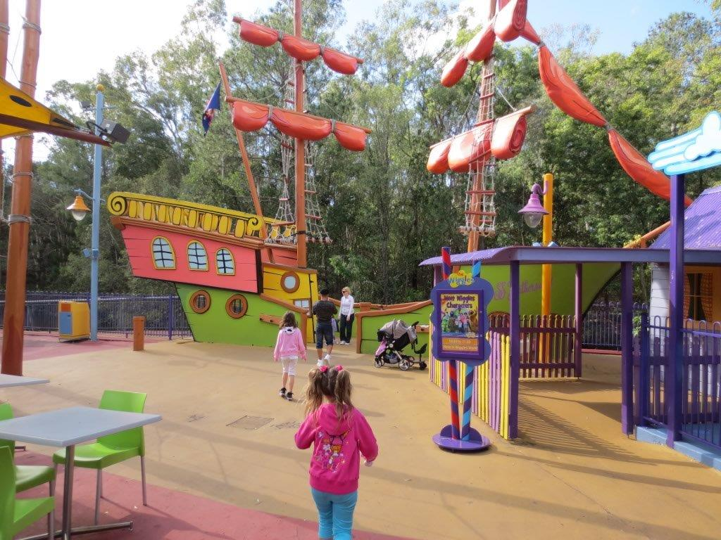 The Wiggles World pirate ship was a little-kid magnet