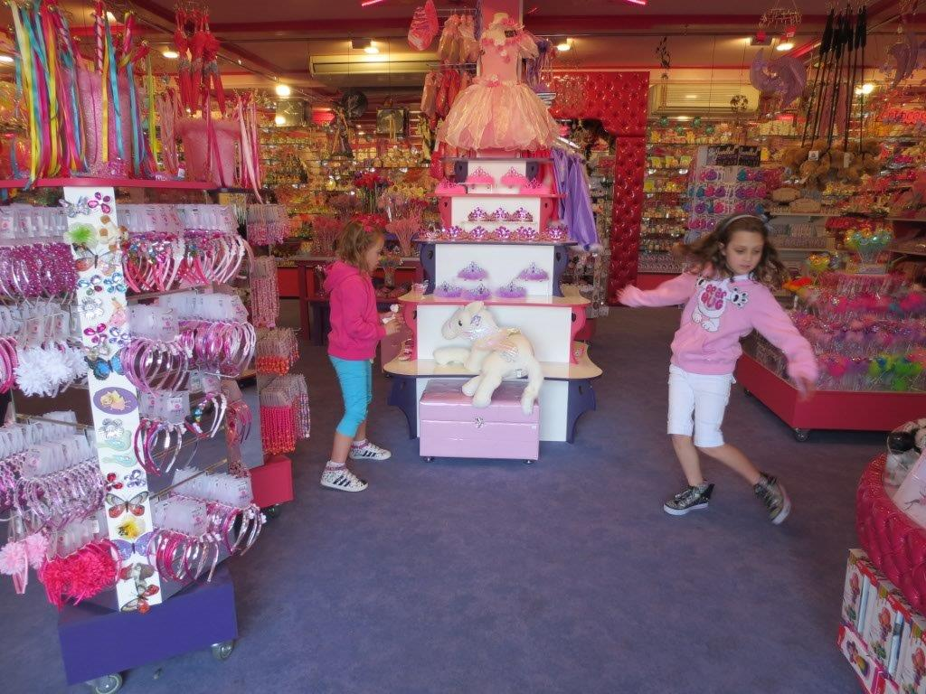 Look at that - and that - and that! Fairy Shop heaven at Dreamworld