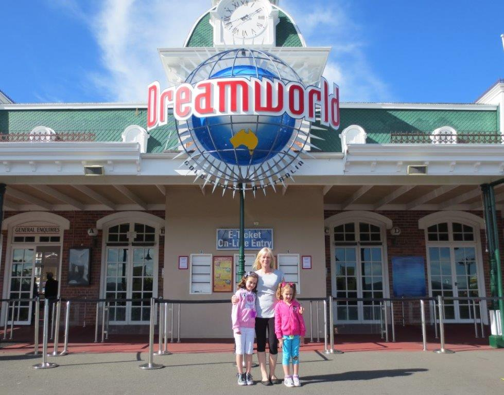 Here we are, ready to hit Dreamworld!