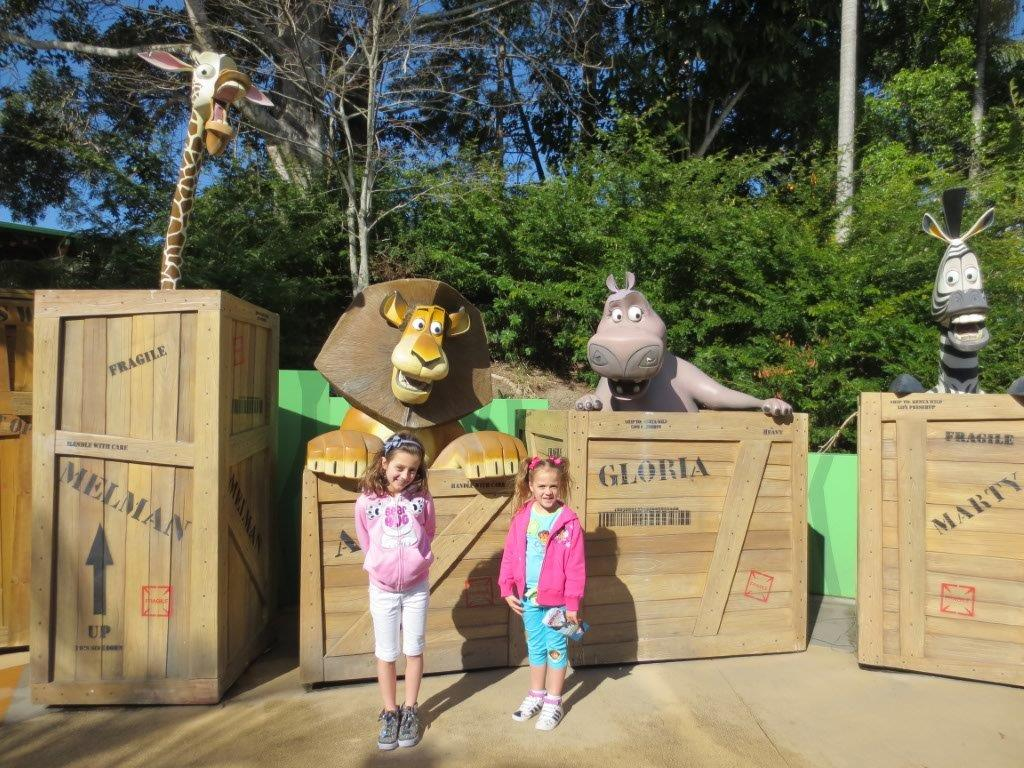 There are lots of great family photograph opportunities dotted around Dreamworld