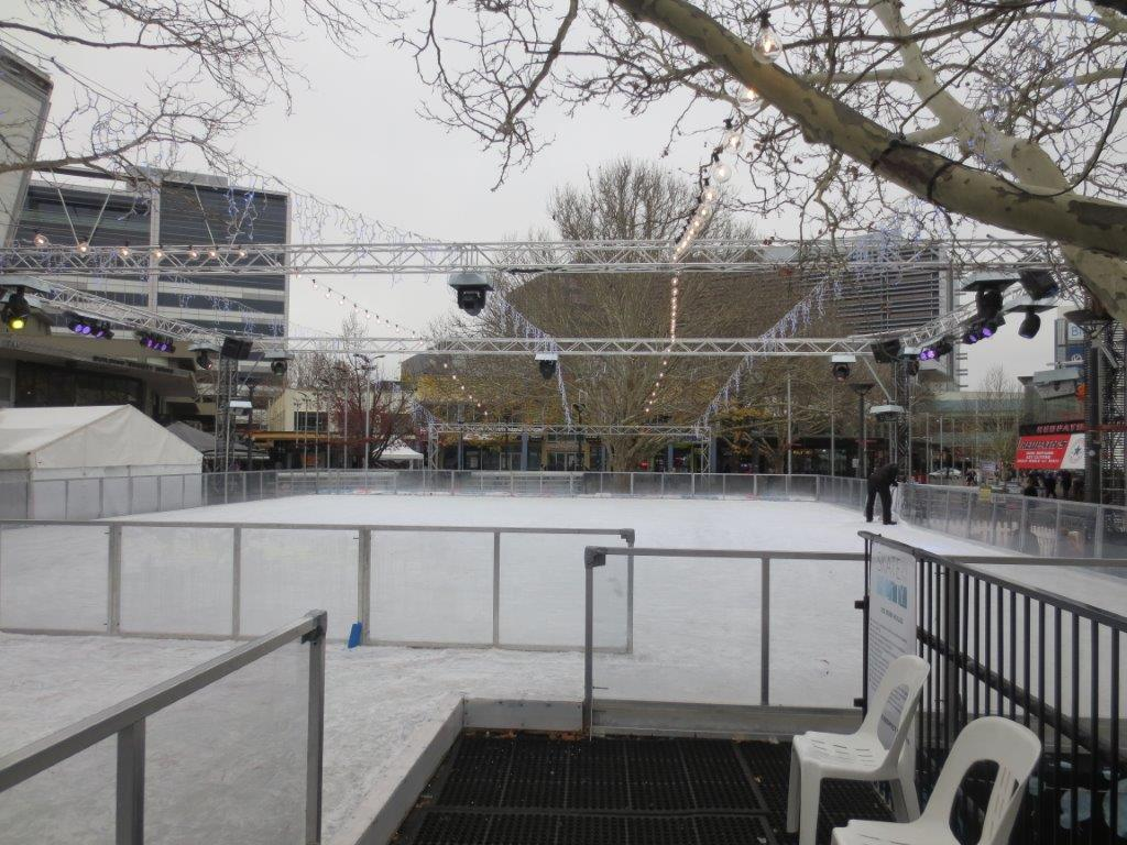 Canberra Skate in the City ice rink