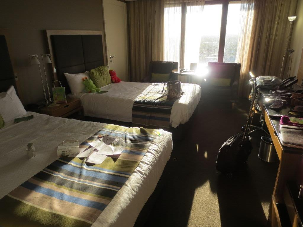 Our Superior Room was a generous size
