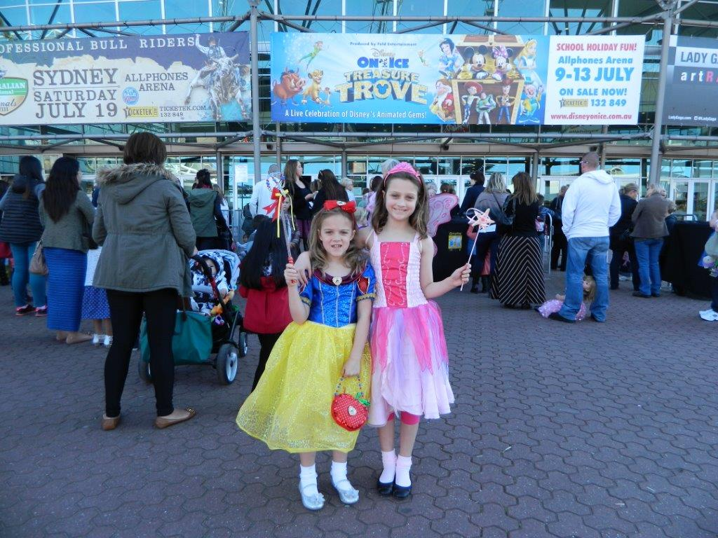 Yay - Disney On Ice day is finally here!