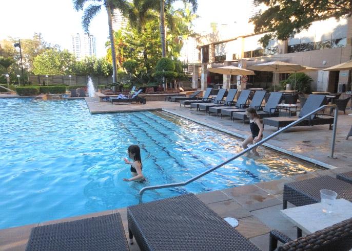 Jupiters Hotel pool complex