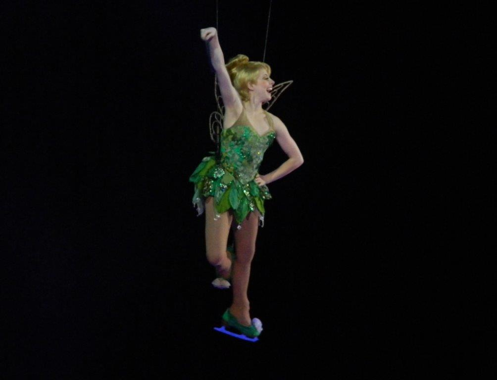 Tinkerbelle has rock star-appeal at Disney On Ice!