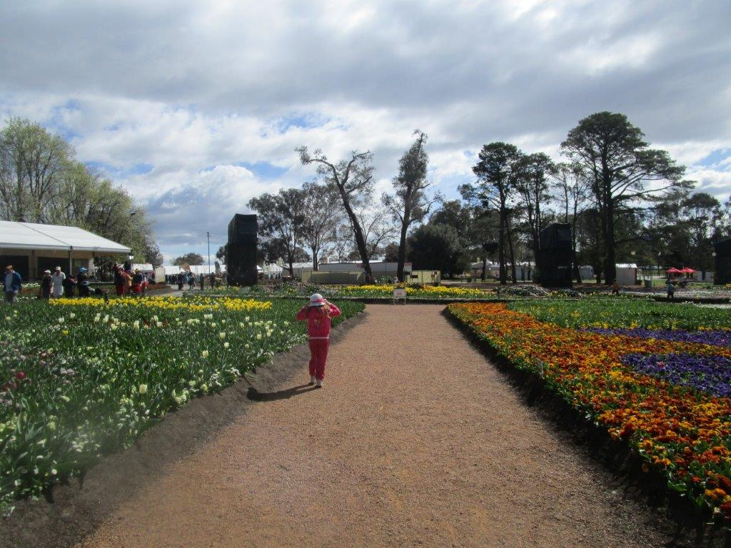Floriade - no crowds outside of weekends and holidays