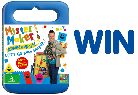 Mister Maker new release DVD giveaway