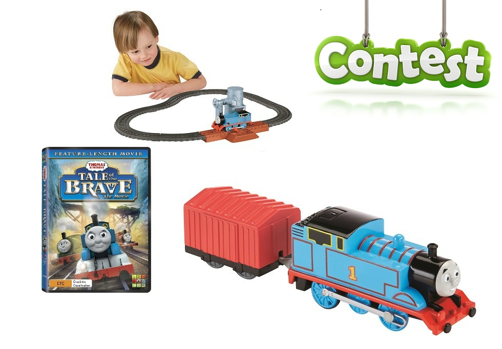 Win a Thomas the Tank Engine set!