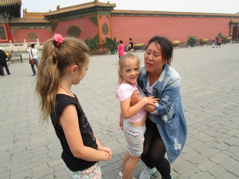 Australian kids are a real novelty on the China mainland - be ready for a lot of attention!