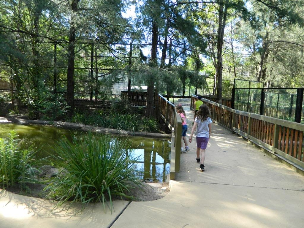 The National Zoo & Aquarium Canberra is beautiful to walk through