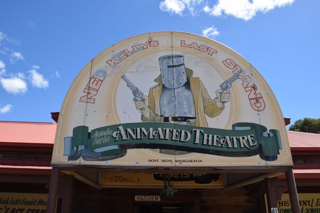 Ned Kelly's Last Stand - the Animated Theatre show