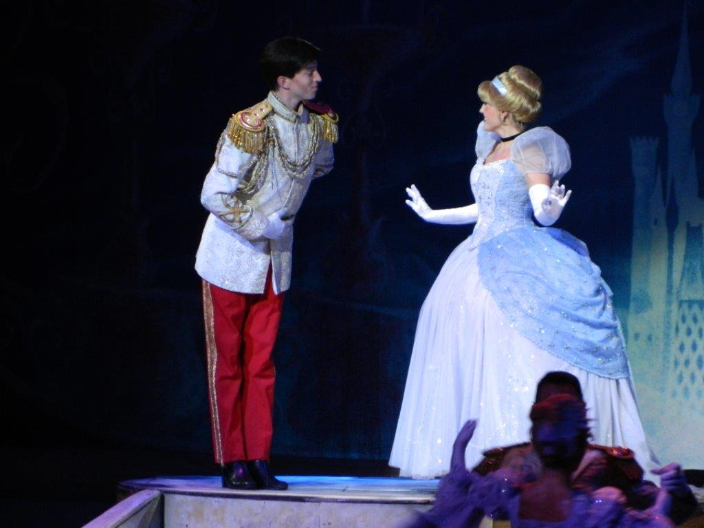 Don't mind if I do! A stunning Cinderella meets her Prince