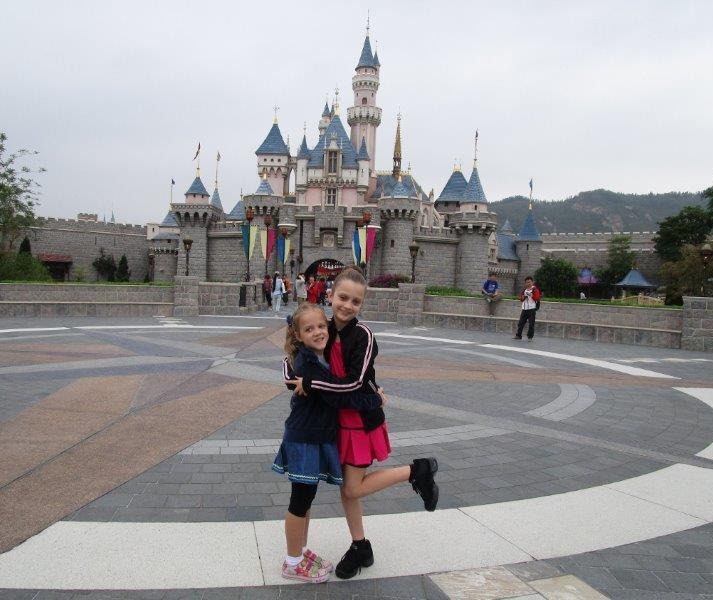 We had a great day at Hong Kong Disneyland!
