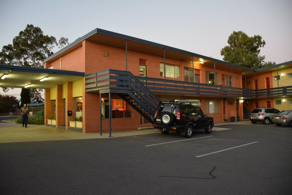 The Parkview Inn motel in Wangaratta is a great place to stop for a night or two
