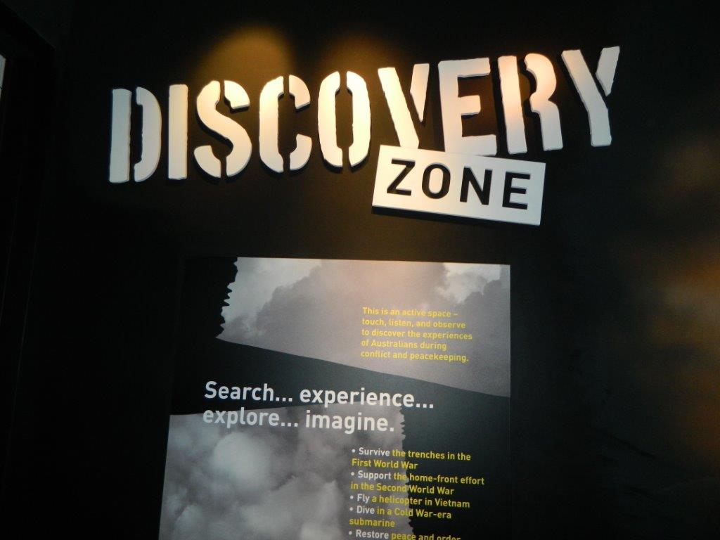 The Discovery Zone interactive children's area