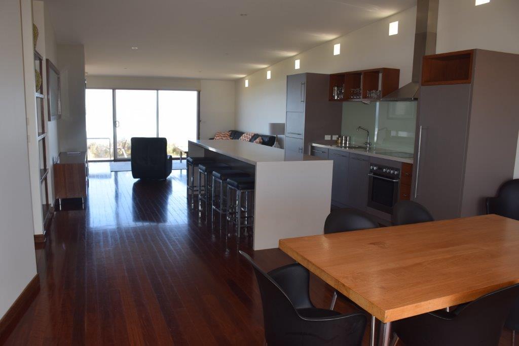 Open plan and oh-so-stylish - Hearns Beach Villa's elegant interior