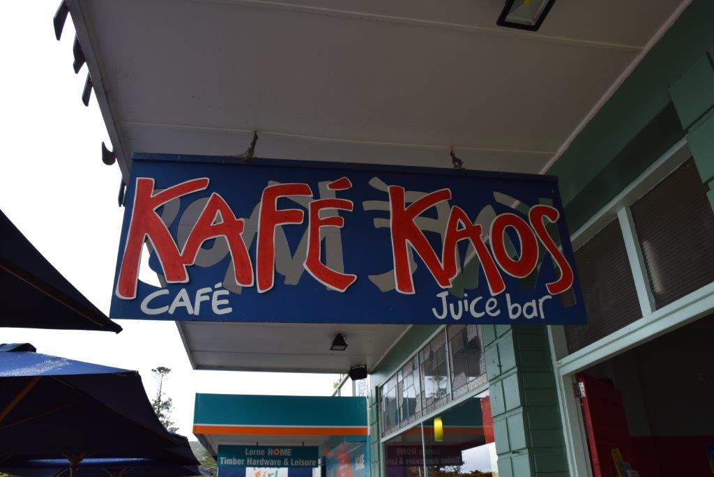We had a sumptuous lunch at Kafe Kaos