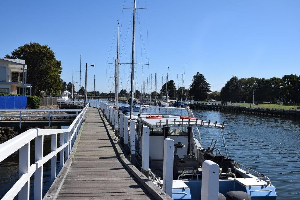 If you can tear y0urself away from the villa, go exploring in the beautiful historic fishing village of nearby Port Fairy