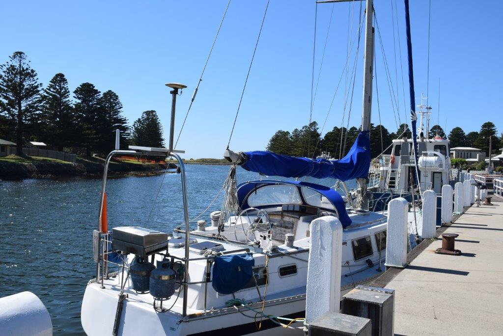 The Port Fairy riverside is a beautiful place for a walk