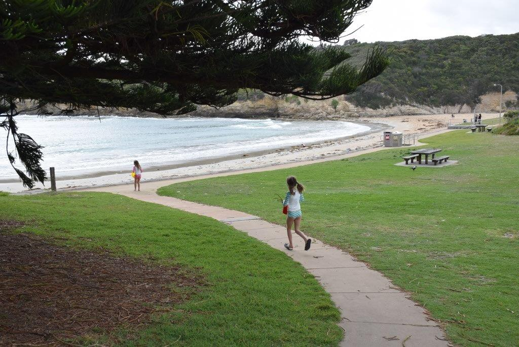 Port Campbell beach is great for kids