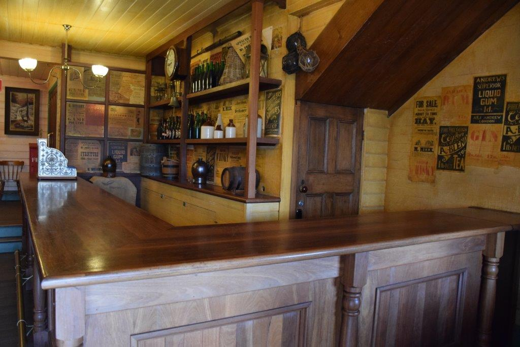 Inside the Steam Packet Inn - it's possible to go in a lot of the buildings at Flagstaff Hill